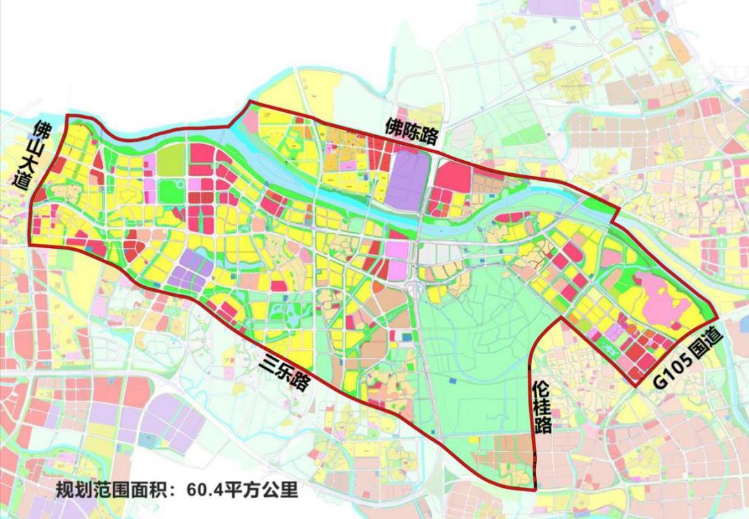 面积为60.4万㎡的三龙湾潭洲国际创新城要来了!